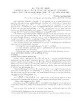 CÁCH XÁC ĐỊNH VÀ CHẾ ĐỘ PHÁP LÝ CỦA CÁC VÙNG BIỂN THEO CÔNG ƯỚC CỦA LIÊN HIỆP QUỐC VỀ LUẬT BIỂN NĂM 1982