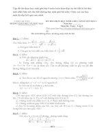 Tập đề thi chọn học sinh giỏi lớp 9 môn toán kèm đáp án chi tiết