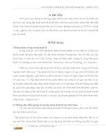 Bài tập cá nhân tuần 2 môn luật thương mại – module