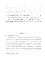 Nghĩa vụ chứng minh trong pháp luật tố tụng dân sự Việt Nam