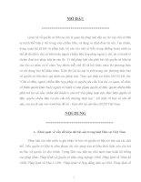vấn đề kiện đòi tài sản trong luật Dân sự Việt Nam