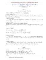 TUYỂN tập 30 đề THI HSG và lời GIẢI môn TOÁN lớp 6