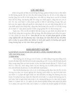 VỤ VIỆC LIÊN QUAN ĐẾN HÀNH VI XÂM PHẠM QUYỀN SỞ HỮU CÔNG NGHIỆP ĐỐI VỚI TÊN THƯƠNG MẠI VÀ QUAN ĐIỂM CỦA NHÓM VỀ HƯỚNG GIẢI QUYẾT: