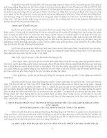 THỰC TRẠNG PHÁP LUẬT VIỆT NAM VỀ BẢO HỘ QUYỀN TÁC GIẢ KHI THAM GIA CÔNG ƯỚC BERNE VỀ BẢO HỘ QUYỀN TÁC GIẢ KHI THAM GIA CÔNG ƯỚC BERNE