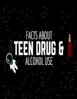facts about teen drug and alcohol use
