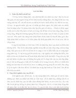 Tiểu luận Tội đánh bạc trong luật hình sự Việt Nam