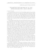 Tích hợp kiến thức liên môn văn sử địa trong giảng dạy t1   b14   GDCD 10