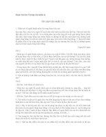 Soạn bài lớp 6: Ôn tập văn miêu tả