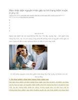 Mẹo nhận diện nguyên nhân gây ra tình trạng hiếm muộn ở phụ nữ