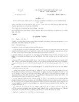 Thông tư 012013TTBYT hướng dẫn thực hiện quản lý chất lượng xét nghiệm