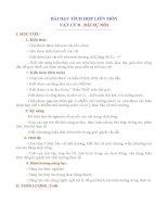 bài dạy tích hợp liên môn vật lí 8 bài sự nổi