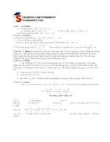 Tổng hợp đề thi thử vào lớp 10 môn toán năm 2013 (Phần 4)