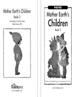 Sách tiếng Anh cho trẻ em Book 8 mother earths children book 2