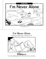 Sách tiếng Anh cho trẻ em Book 39 im never alone