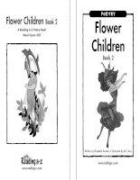 Sách tiếng Anh cho trẻ em Book 9 flower children book 2