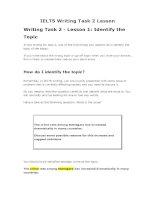 IELTS writing task 2 lesson