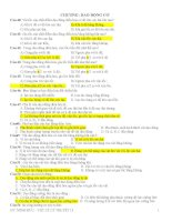 chuyên đề vật lí lý thuyết 12 chương dao động cơ