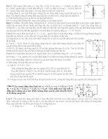 bài tập dao động điện từ chọn lọc