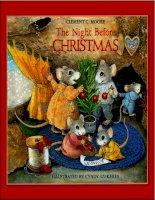 Sách tiếng Anh cho trẻ em The night before christmas