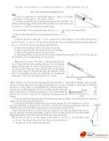 50 bài toán dao động cơ luyện thi học sinh giỏi