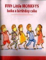 Sách tiếng Anh cho trẻ em Bake a birthday cake