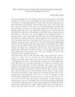 Bàn về hiệu ứng đọc lý thuyết phê bình nước ngoài trường hợp bản dịch độ không của lối viết