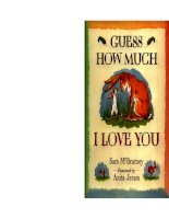 Sách tiếng Anh cho trẻ em Guess how much i love you