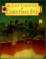 Sách tiếng Anh cho trẻ em The last chimney of christmas eve