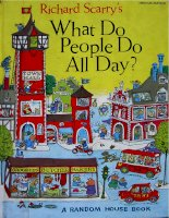 Sách tiếng Anh cho trẻ em What do people do all day