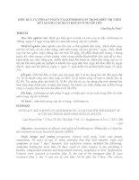 HIỆU QUẢ VÀ TÍNH AN TOÀN CỦA AZITHROMYCIN TRONG ĐIỀU TRỊ VIÊM MŨI XOANG CẤP DO VI KHUẨN Ở NGƯỜI LỚN