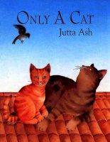 Sách tiếng Anh cho trẻ em Only a cat