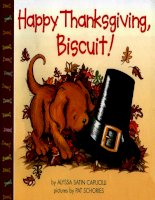 Sách tiếng Anh cho trẻ em Happy thanksgiving, biscuit