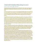 Thuyết minh về danh lam thắng cảnh quê em văn 8