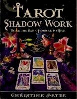 Hướng dẫn bói bài Tarot Tarot shadow work using the dark symbols to heal
