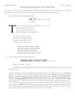 bài tập thực hành word lớp 10 học kì 2