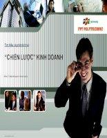 Tìm hiểu và phân tích về chiến lược kinh doanh