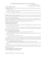 Phương pháp biên soạn giáo án tích hợp