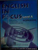 English in focus level a diana green