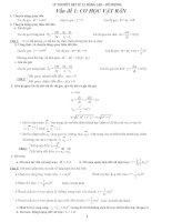 lý thuyết vật lý 12 nâng cao vấn đề cơ học vật rắn