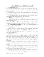 ÔN tập PHẦN đọc HIỂU NGỮ văn 12 đầy đủ lý THUYẾT và bài tập có đáp án