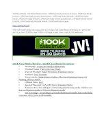 100K Case Study Review and Premium 14,700 Bonus