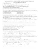 tổng hợp bài tập trắc nghiệm vật lí lớp 12 có lời giải