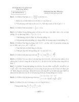 đề thi thpt quốc gia môn toán 2016 có đáp án