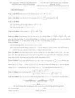 bộ đề thi thpt quốc gia môn toán 2016 có hướng dẫn chi tiết