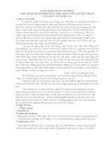 SÁNG KIẾN KINH NGHIỆM MỘT SỐ KINH NGHIỆM DẠY HỌC SINH LỚP 5A3 VIẾT ĐOẠN VĂN,BÀI VĂN MIÊU TẢ