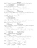 30 Đề thi thử hóa học có lời giải chi tiết
