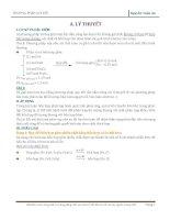 Chuyên đề phương pháp quy đổi trong hóa học