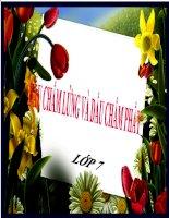 Bài giảng ngữ văn 7 bài 29 dấu chấm lửng và dấu chấm phẩy 3