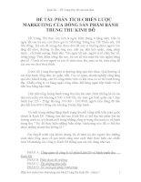 Đồ án môn học phân tích chiến lược marketing của bánh trung thu kinh đô