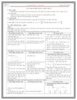 Giáo án vật lý 12 học kì 1 tiết  22